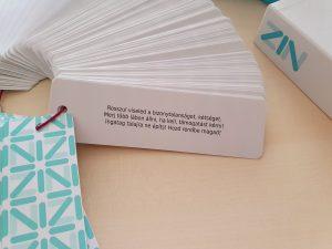 üzenet kártya random